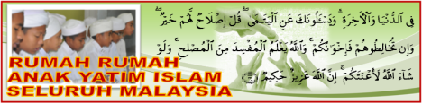 Rumah Anak-Anak Yatim Islam Selurh Malaysia